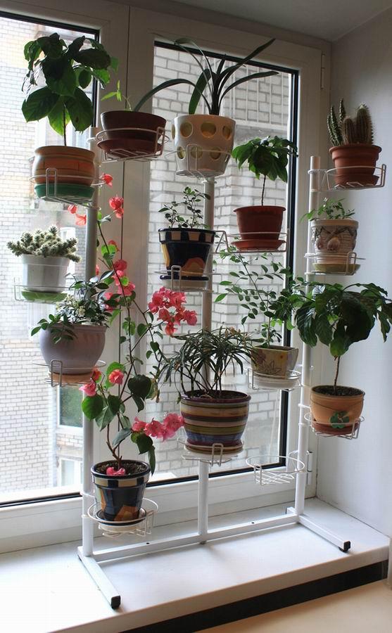 Подставки под цветы на окна