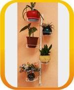Настенные подставки для цветов, подставка под цветы на стену