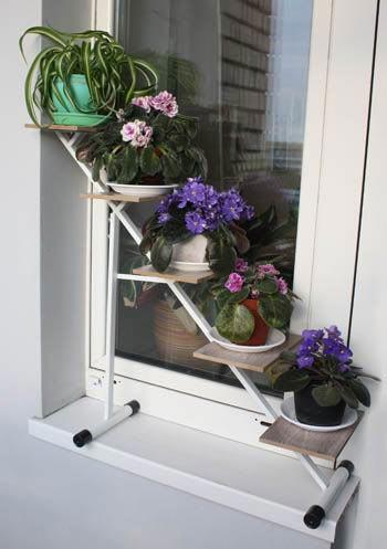 Подставка на окно для цветов